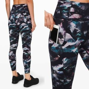 lululemon Glacier Fast and Free Tights Size 4